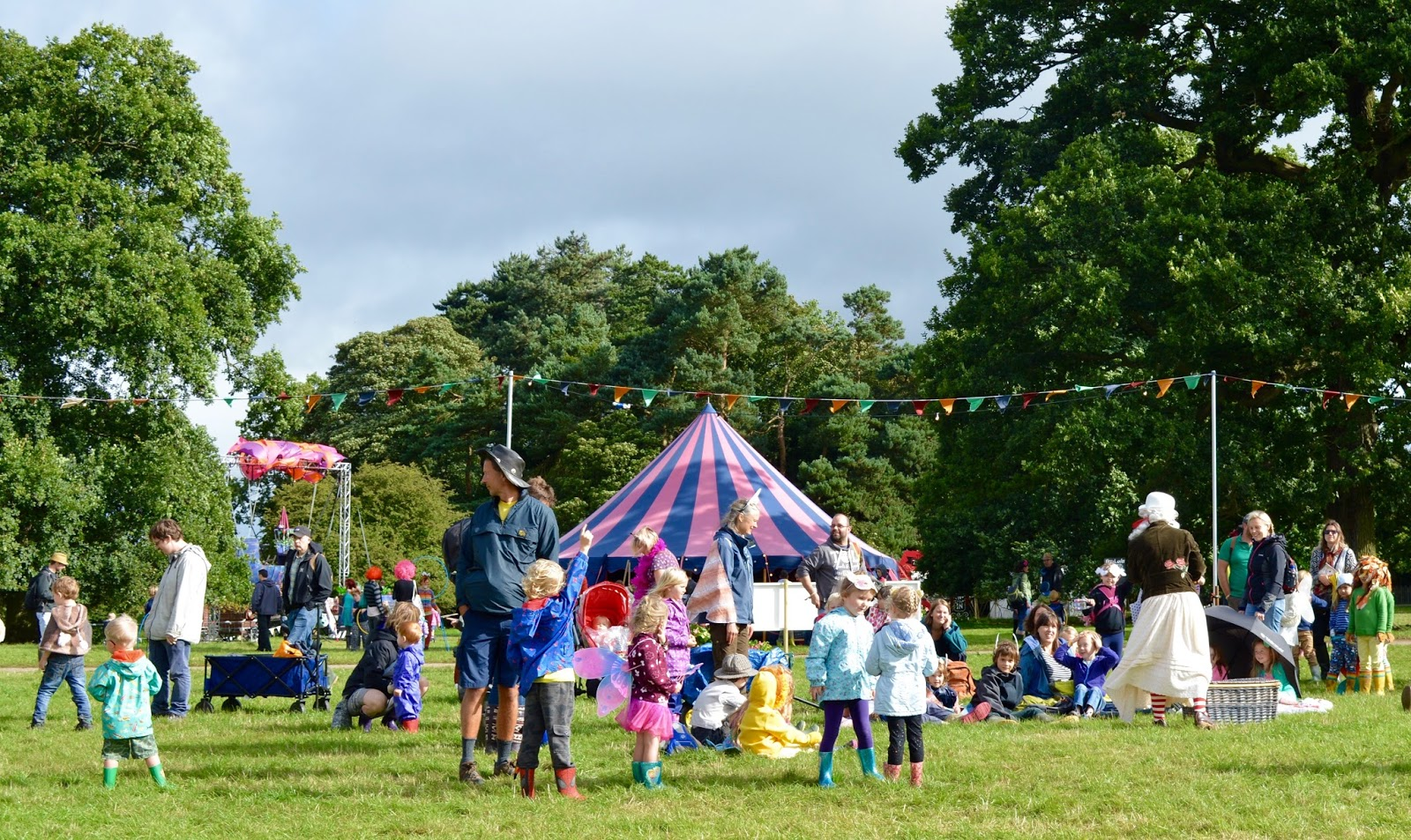 33 Reasons we LOVED the Just So Festival 2016 - circus tent