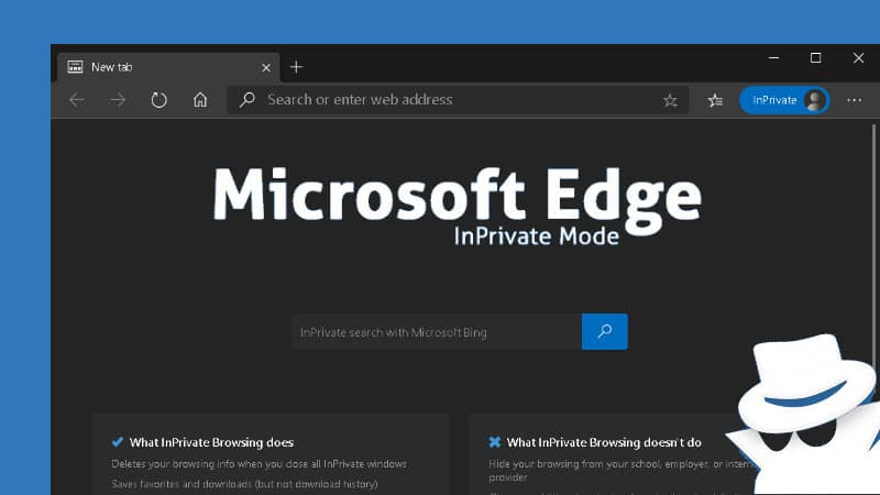 How to start Microsoft Edge in 'InPrivate' mode by default?