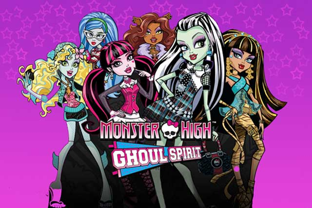 Painel Monster High para as decorações da Lugh Festas