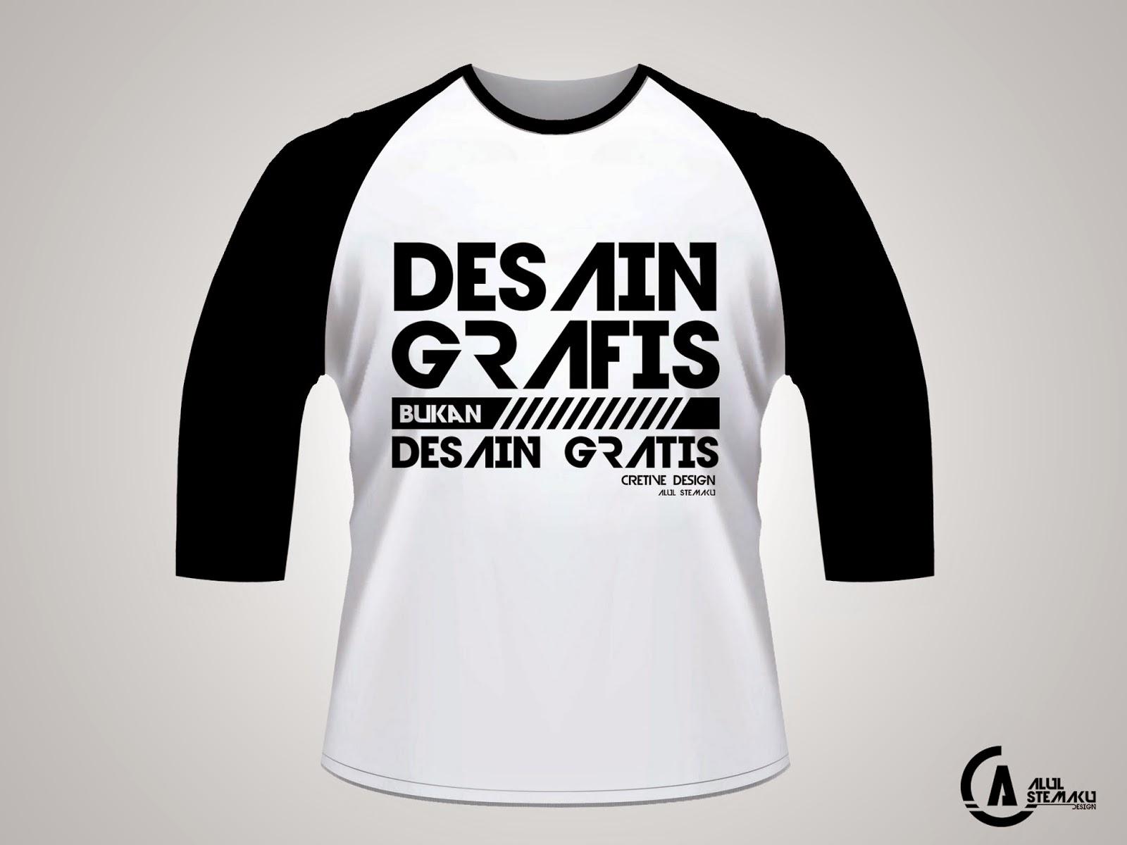 Download Gambar Desain Kaos Lengan 3 4 PSD