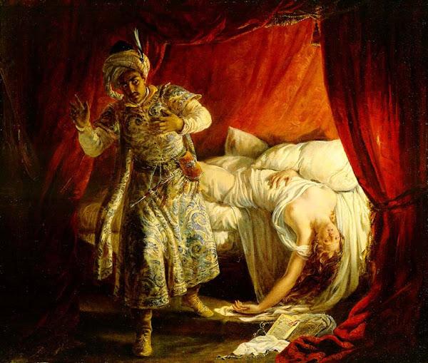 奧賽羅與妻子