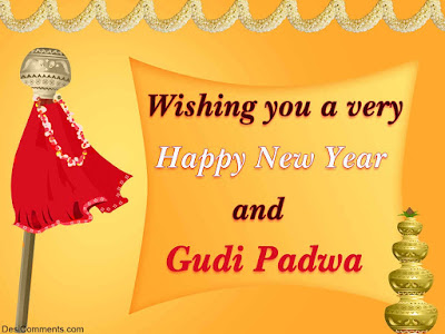 Happy Gudi Padwa Wishes In English