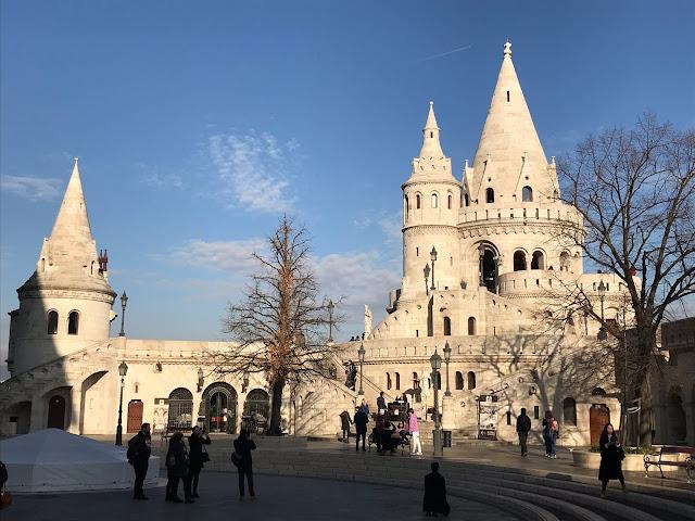 bastion des pêcheurs Budapest Hongrie