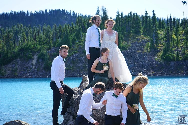 Le Chameau Bleu - Mariage canadien devant le Garibaldi Lake