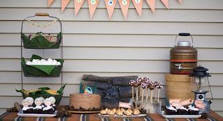 The Vintage Campographer Vintage Camper Birthday Party Ideas