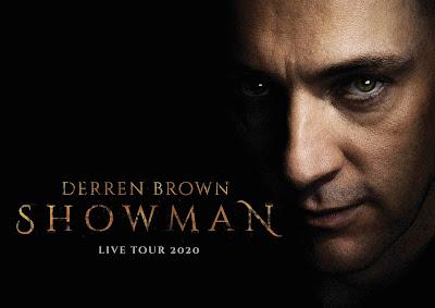 DERREN BROWN announces brand new tour for 2020