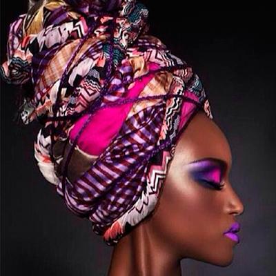 Foto 10 maquiagem lilas pele negra