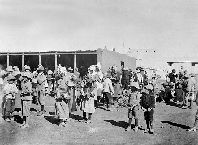 Boer women and children in British concentration camps