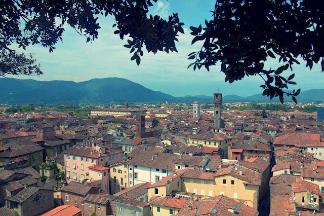 miasto Lucca, Toskania, Włochy