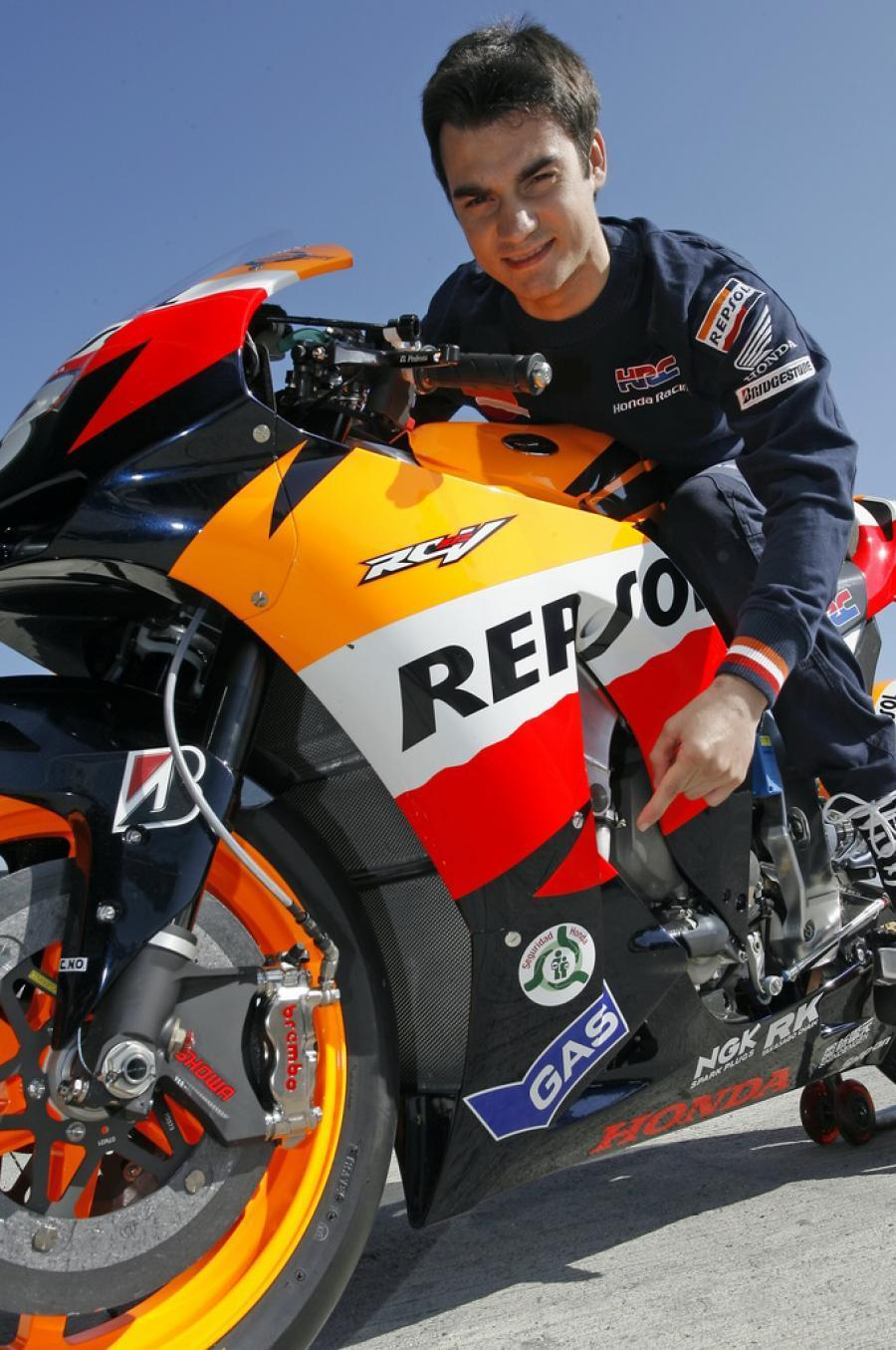 Sport Be Sporty: Dani Pedrosa Racing Moto GP Sport