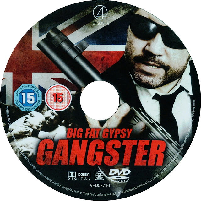 Big Fat Gypsy Gangster DVD Label