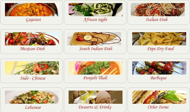 Asian food services by Dips foods