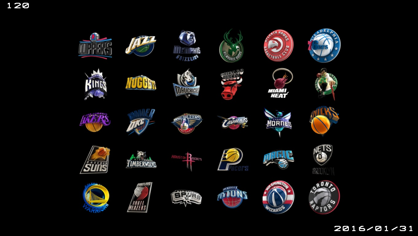 3D NBA logos and 2k16 picture introduction - NBA 2K Updates, Roster Update, Cyberface, Etc