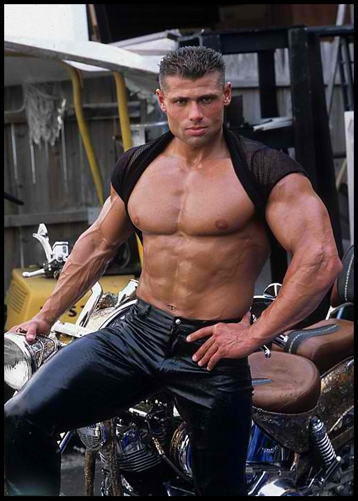 Daily Bodybuilding Motivation Leather And Muscle -1955