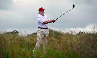 Trump's Scottish golf resorts suffer heavy losses.