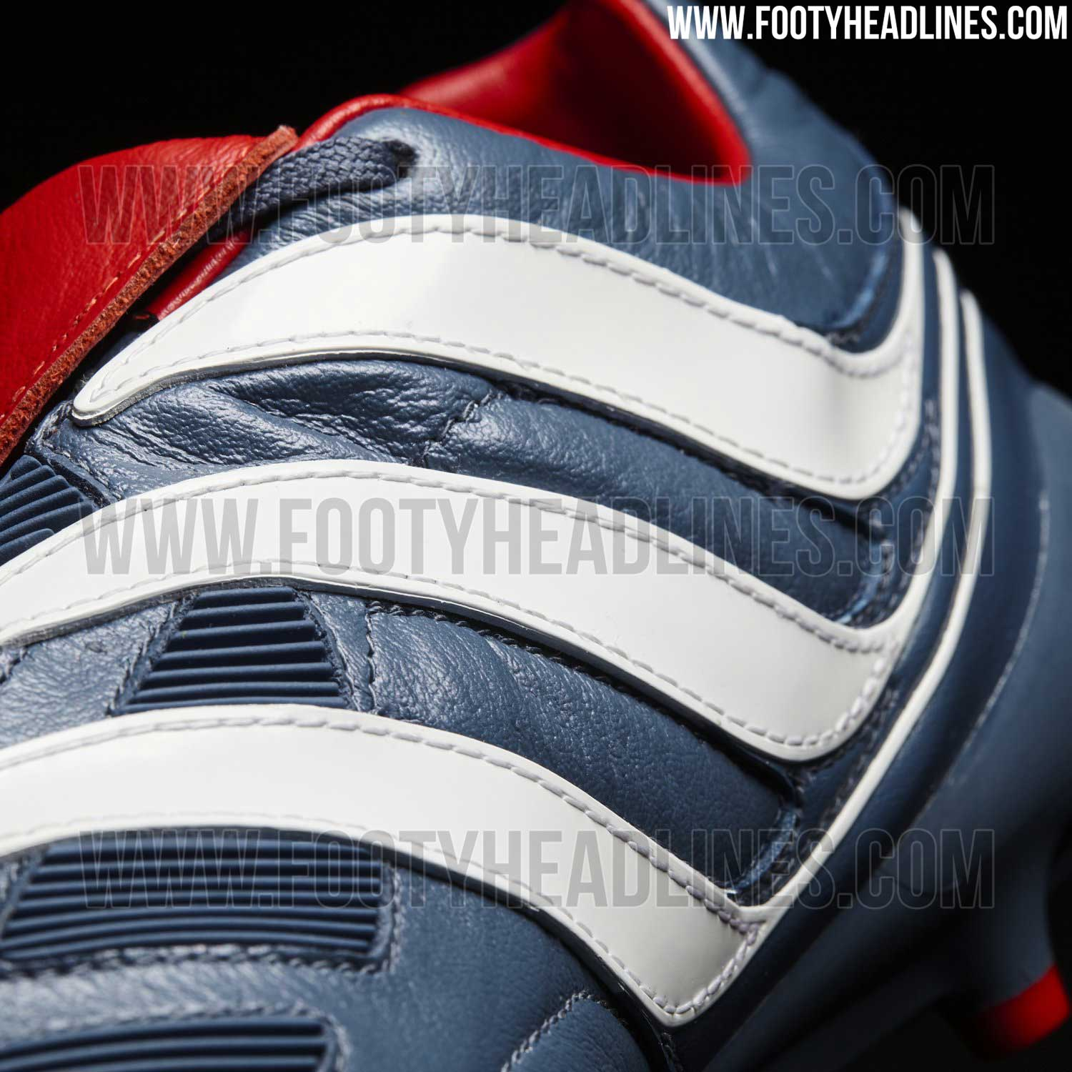 watch 5ecd0 5337f ... clearance adidas predator 1994 remake boot released footy headlines  additionally the rubber elements at the front