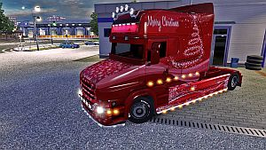 Xmas paint job for Scania T (EviL)
