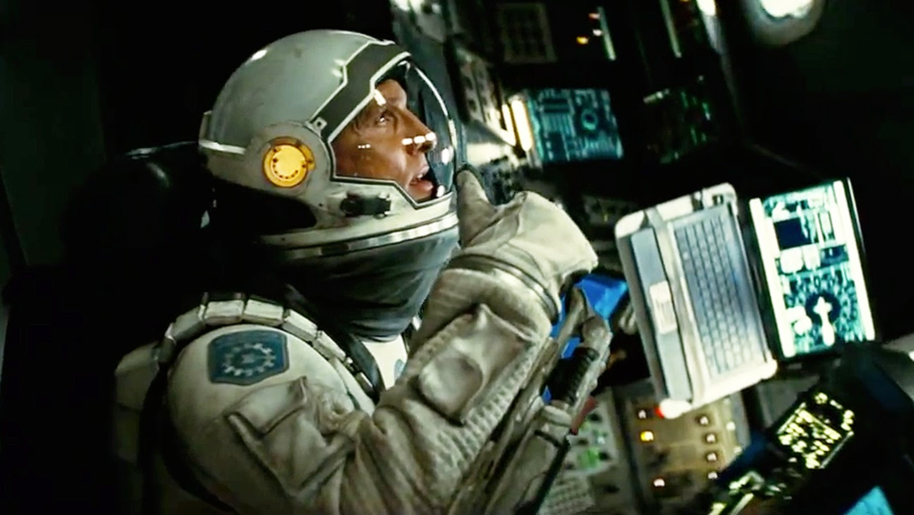 10 Film Hollywood Terlaris Pekan ini, Interstellar