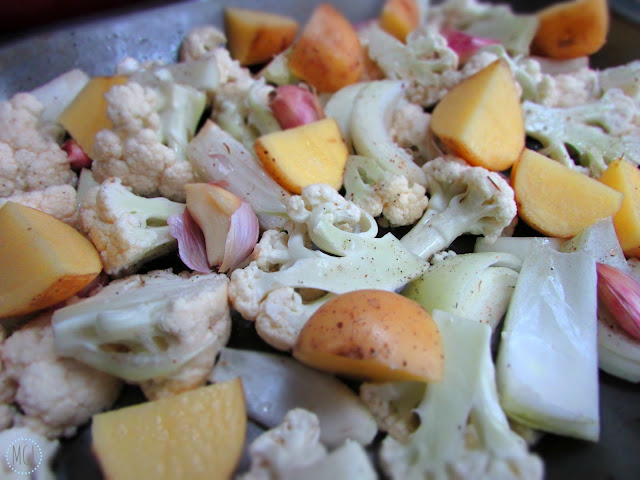 My General Life - Roasted Cauliflower & Garlic Soup - Vegan