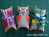 Easy Pillow Boxes
