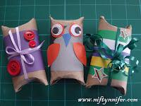 Easy Pillow Boxes