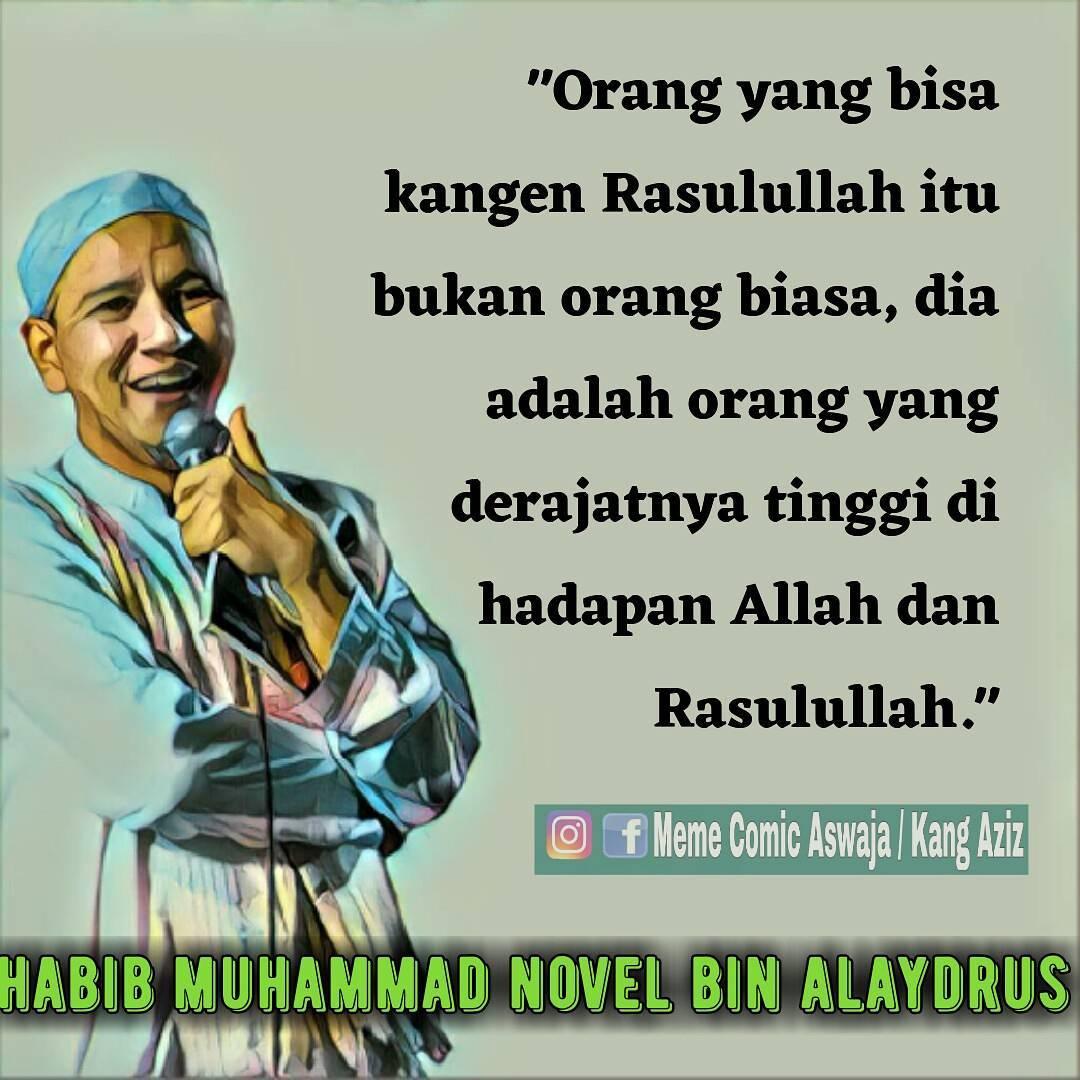 Kata Mutiara Penuh Cinta Dari Habib Muhammad Novel Bin Alaydrus