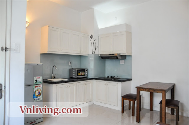 Service apartment for rent in Thao Dien District 2 1 bedrooms