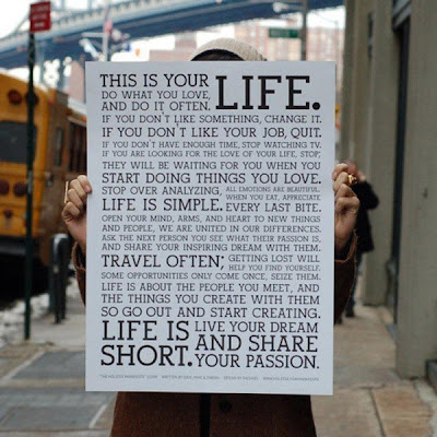 LA FOTO DE HOY: This is your LIFE 1