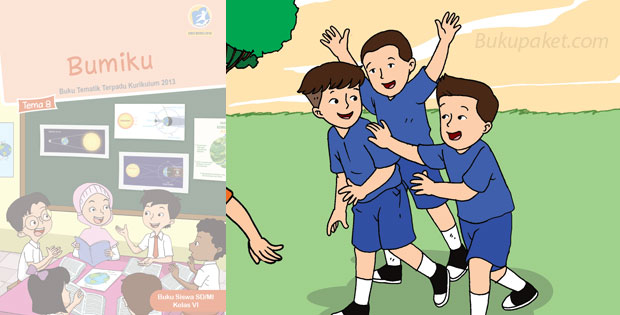 Materi Tematik Kelas 6 Tema 8 Kurikulum 2013 Revisi 2018
