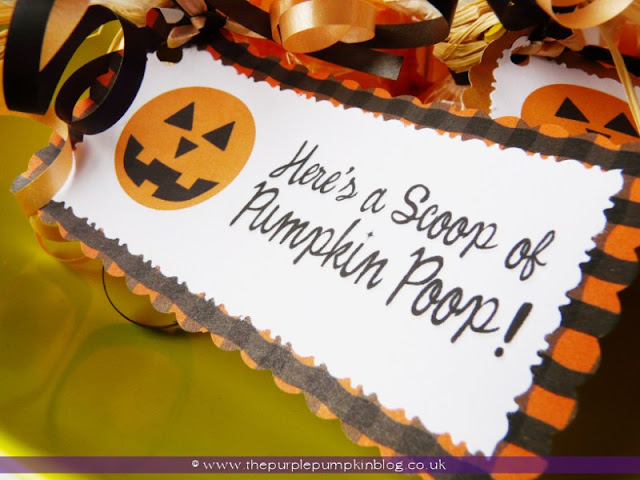 Pumpkin Poop! {Crafty October} at The Purple Pumpkin Blog