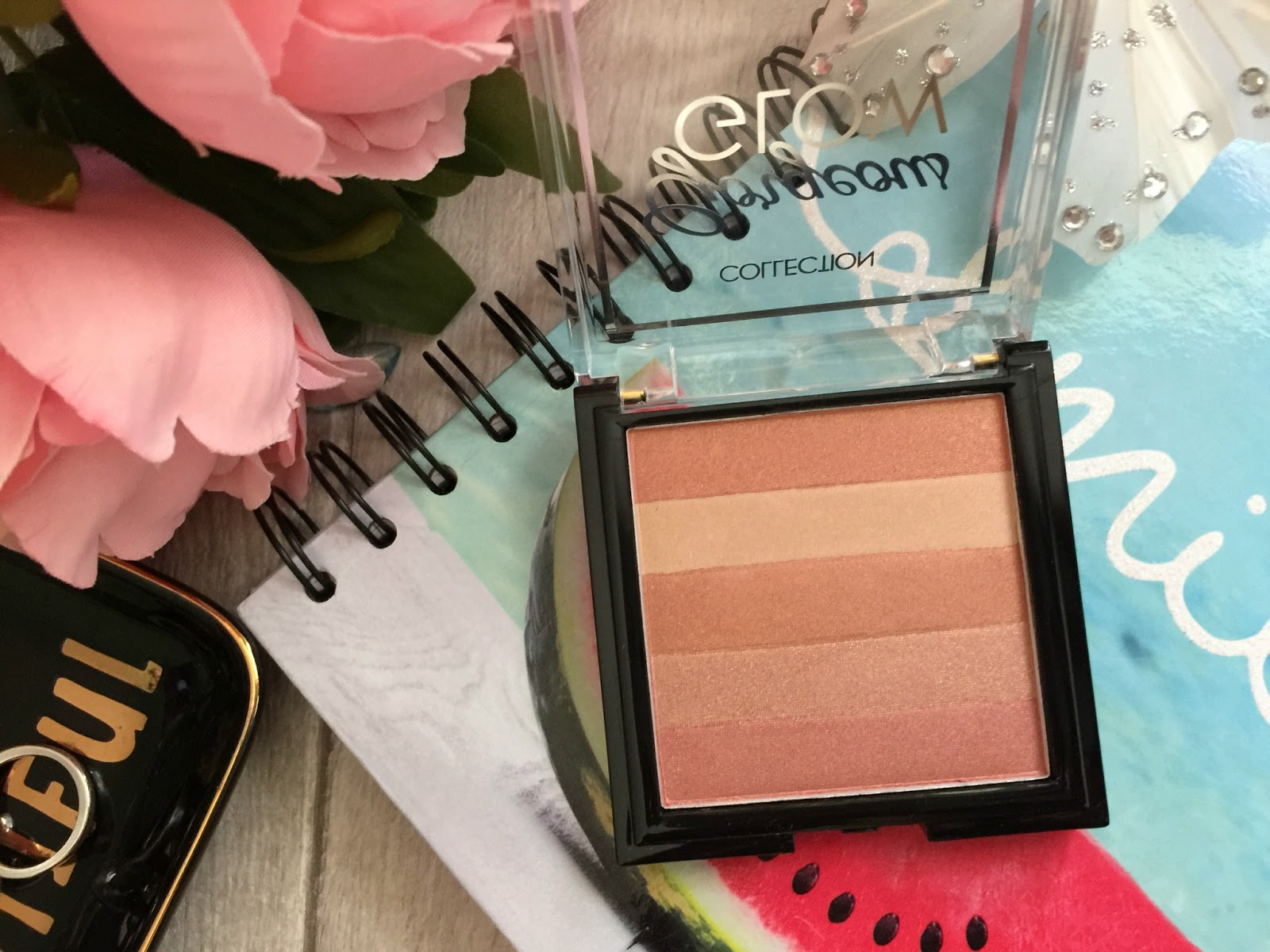 collection gorgeous glow blush block shades