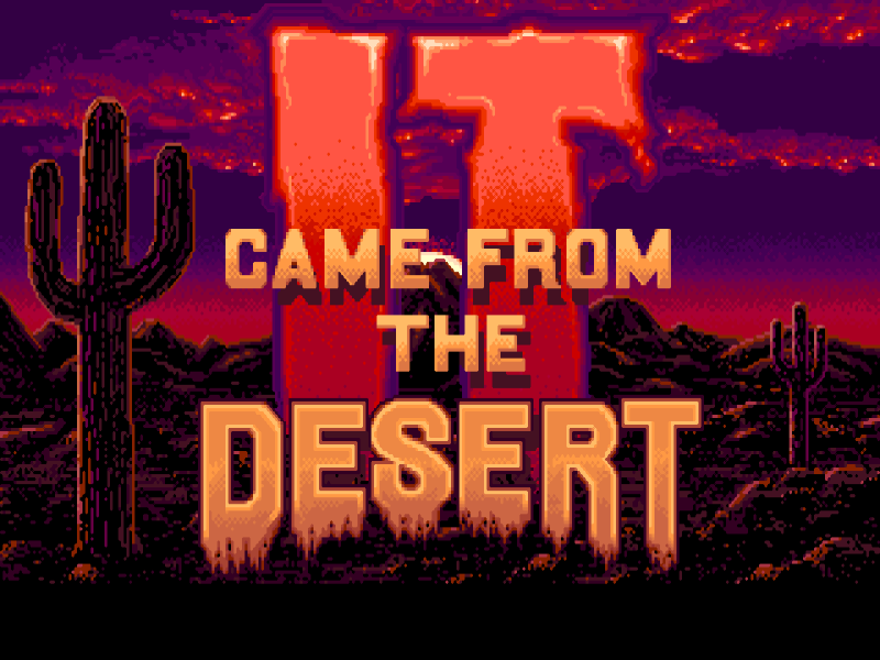 Indie Retro News It Came From The Desert Antheads Exp Amiga Adventure Pc Playable
