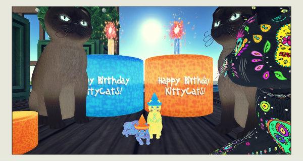 Kittycats Birthday Cake Hunt