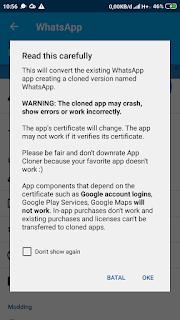Cara Clone App Android (App Cloner Premium)