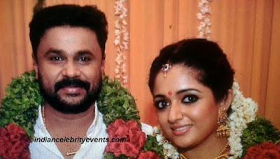 Newly wed Kavya Madhvan and Dileep