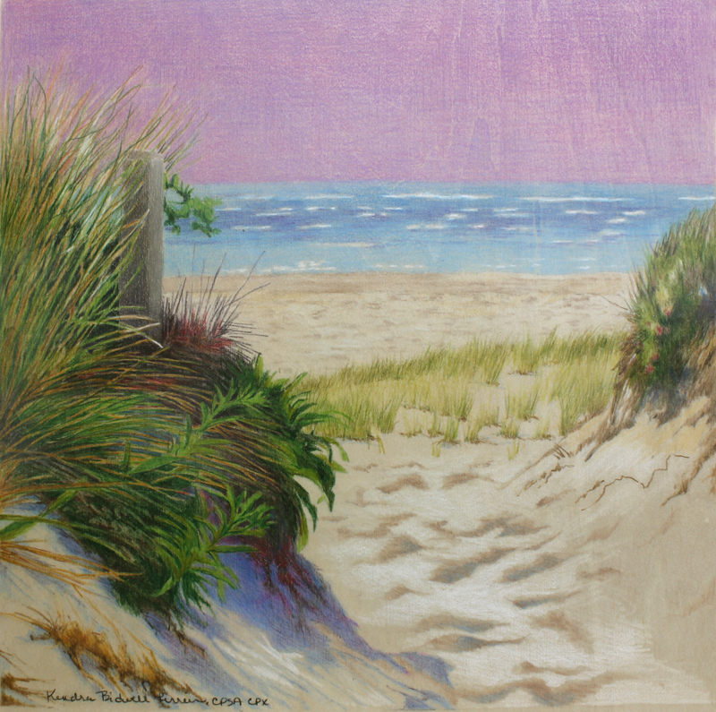 KJF DESIGN: More Beach Dunes on Wood and Upcoming Colored ...