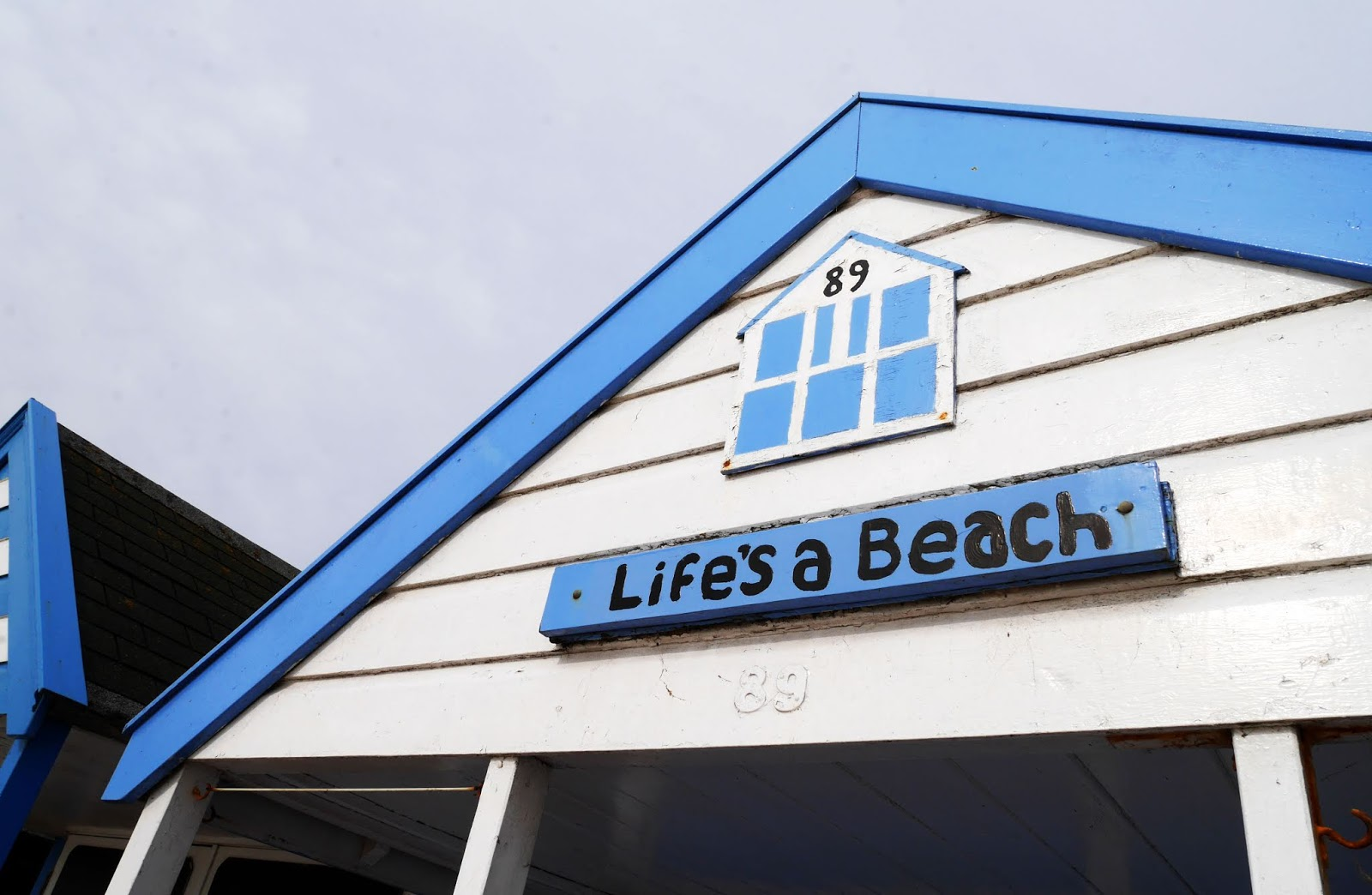 'Life's a Beach' beach hut in Southwold, Suffolk