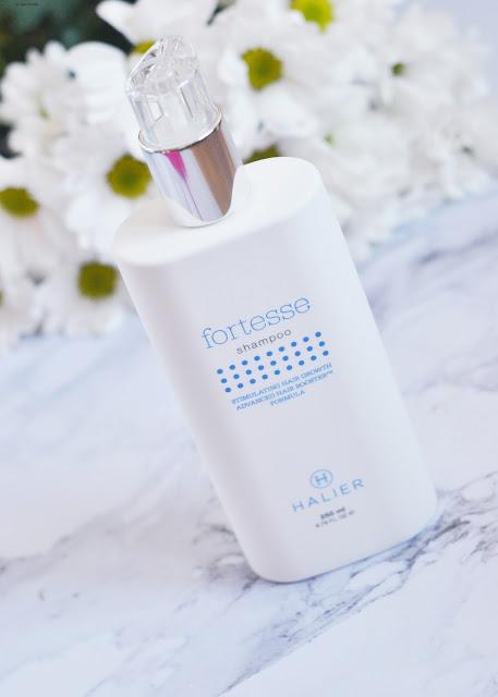 jak działa szampon halier fortesse