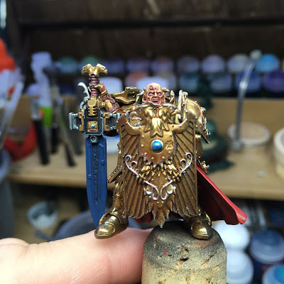 Adeptus Custodes WIP Close-up Front