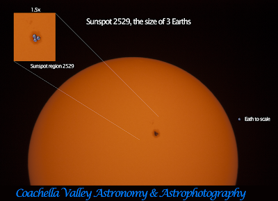 4-12-16 Sunspot region 2529
