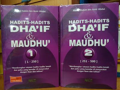 Buku Hadits-Hadits Dhaif Dan Maudhu 2 Jilid