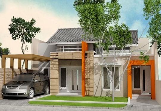 model teras rumah sederhana terbaru