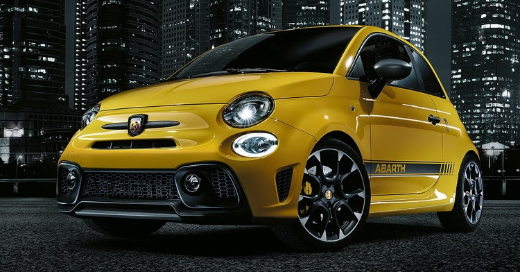 updated abarth 595 revealed with a slight bump in power. Black Bedroom Furniture Sets. Home Design Ideas