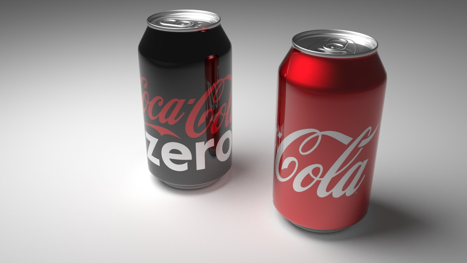 Free 3D Coca Cola Can .blend file