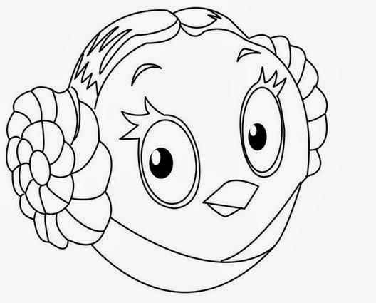 Desenhos Para Pintar Angry Birds: Desenho Para Pintar: Angry Birds