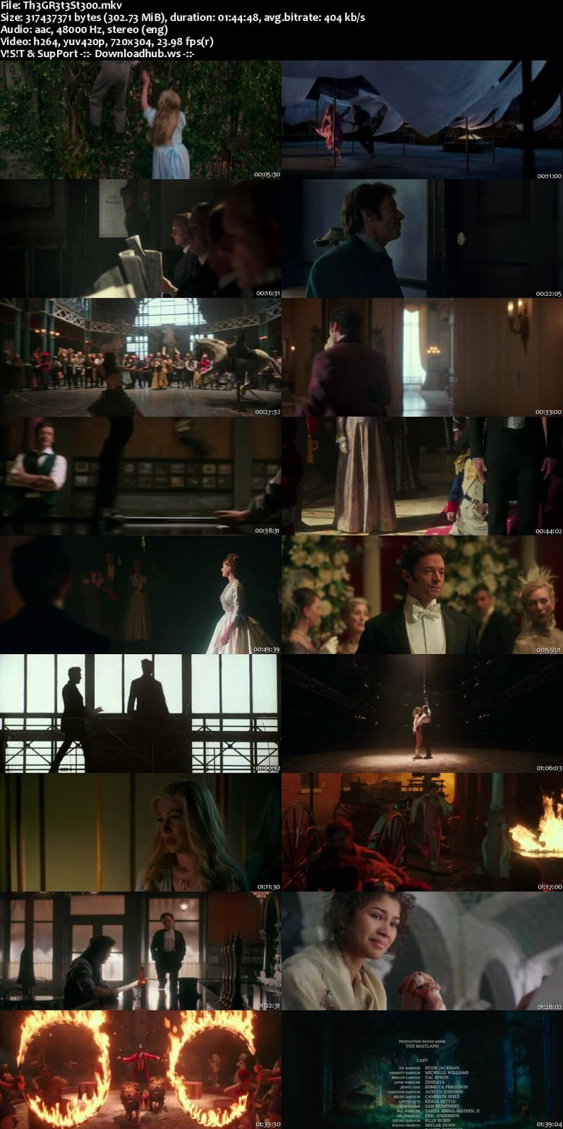 The Greatest Showman 2017 English 480p WEBRip ESubs