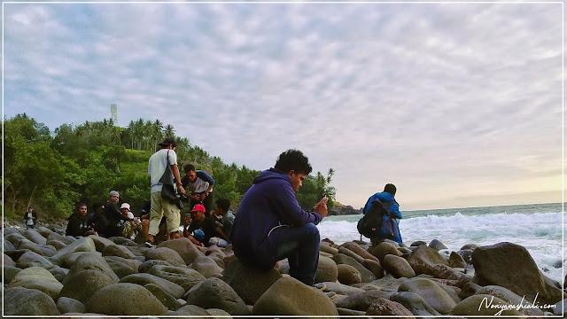 Komunitas Blogger Ternate berada di Pulau Hiri; Gurabala