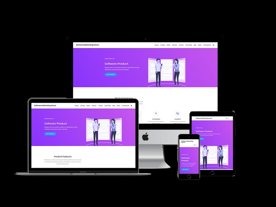 Contoh Template Website Company Profil 13