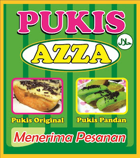 Desain Banner Jualan Pukis Format CDR