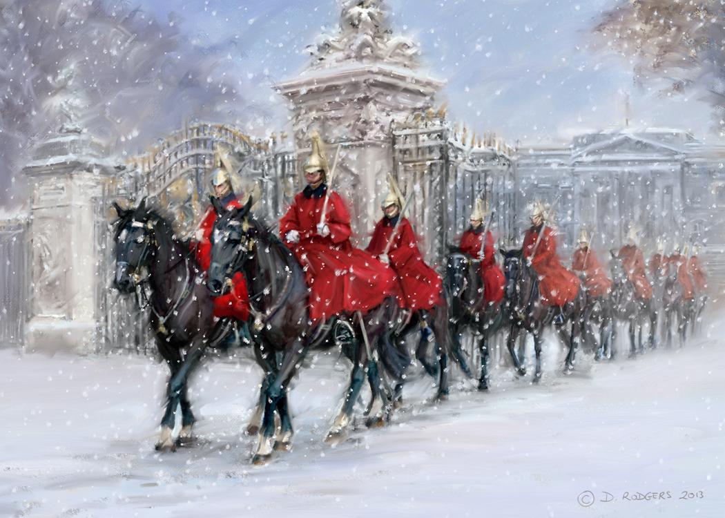 Daniel Rodgers: Horse Guards at Buckingham Palace  Daniel Rodgers:...